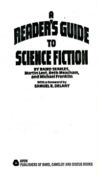 A Reader's Guide to Science Fiction by Baird Searles, Beth Meacham, Martin Last and Michael Franklin