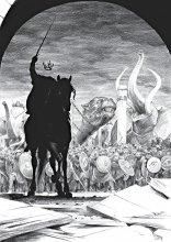 Битва за Минас-Тирит, иллюстрации к роману Толкина «Возвращение короля»