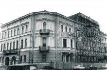 Дом писателя в 1995 году: угол на Шпалерную (Шпалерная улица, 18), фото — Андрей Агафонов, 1995